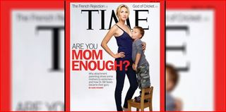 Time Magazine cover mother breastfeeding