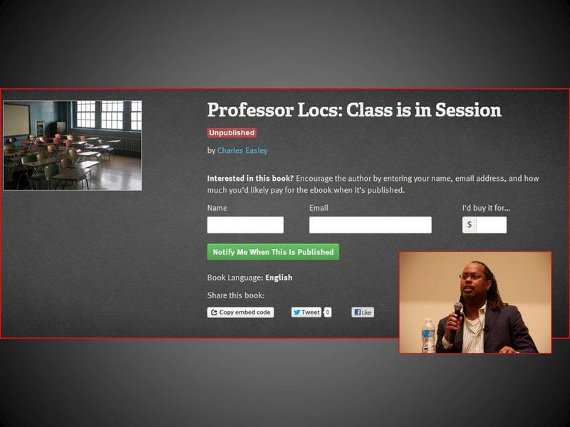 Professor Locs Book Page