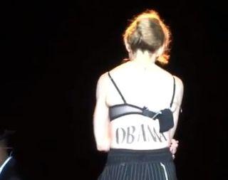 Madonna Obama tattoo
