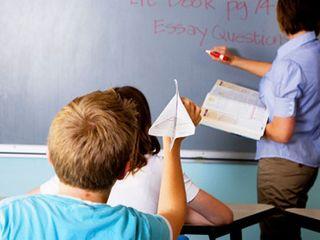 BAd kid classroom