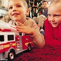 Girl-boy-fire-truck-christmas