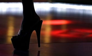 Strip club heel